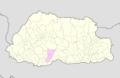 Tsirang Bhutan location map.png