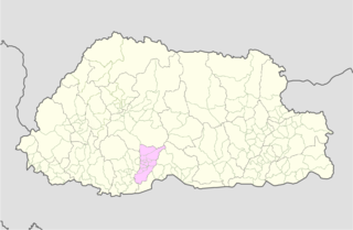Barshong Gewog Gewog in Tsirang District, Bhutan