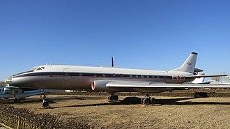 Tupolev Tu-124 - Tupolev Tu-124V at China Aviation Museum, Beijing