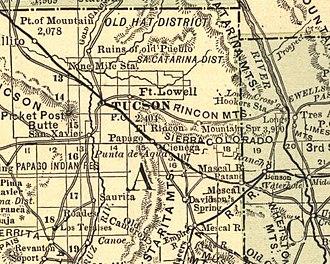 Esmond Train Wreck - Image: Tucson Arizona area 1883