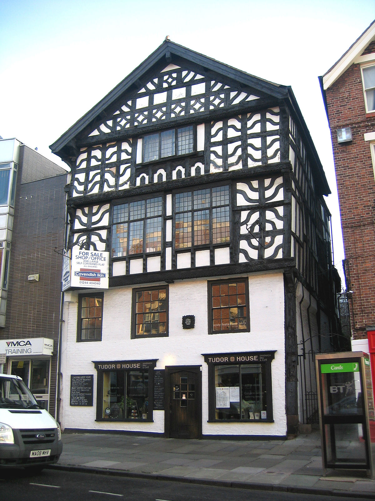 Tudor house chester wikipedia for Tudor house