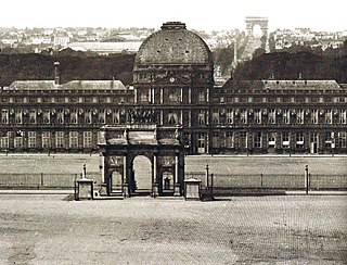 royal and imperial palace in Paris which stood on the right bank of the River Seine