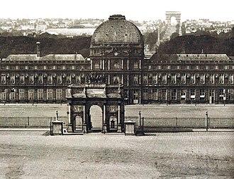Tuileries Palace - Image: Tuileries vers 1860