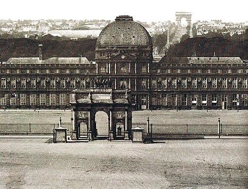 Tuileries vers 1860