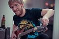 Tuning a Bass Guitar - Stone Oak, San Antonio, Texas (2015-02-26 by Nan Palmero).jpg