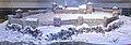 Tunsberghus Fortress (festning) on Slottsfjellet (Mikkelsberget) in Tønsberg ca. 1000 – 1503. Model by Andreas Hauge, The Armed Forces Museum of Norway (Forsvarsmuseet) at Akershus Fortress, Oslo, Norway. Photo 2019-03-31 I.jpg