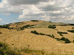 Tuscany landscape west of Siena