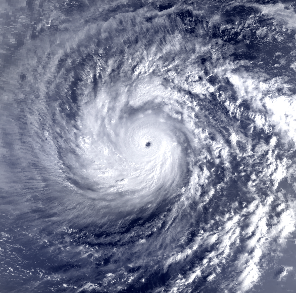 Typhoon Yuri 26 Nov 1991 2124z