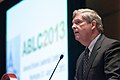 U.S. Department of Agriculture Secretary Tom Vilsack takes a moment to thank the Biofuels industry for all the good that they are doing for American farmers, after being presented the first Global Biofuels Leadership Award.jpg