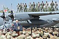 U.S. Vice President Mike Pence's visit in Georgia during Noble Partner 2017 Exercise.jpg
