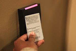 Wireless power transfer - Wireless powered access card.