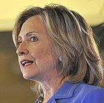U. S. Secretary of State Hillary Rodham Clinton addresses military and political leaders of Hawaii DVIDS334376 (cropped).jpg