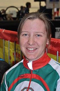 Palina Pivavarava Belarusian track cyclist