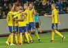UEFA EURO qualifiers Sweden vs Romaina 20190323 Joy.jpg