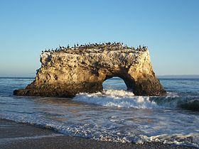 Image illustrative de l'article Plage d'État de Natural Bridges