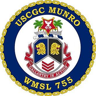 USCGC Munro (WMSL-755) - Image: USCGC Munro seal