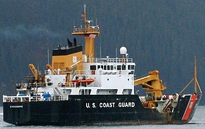 USCGC Sycamore (WLB-209) - Image: USCGC Sycamore, Prince William Sound (cropped)