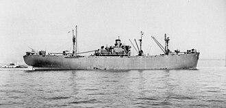 Joshua Hendy Iron Works - Image: USS Albireo AK90