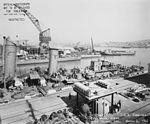 USS Cummings (DD-365) at the Mare Island Naval Shipyard on 4 March 1942 (19-N-28671).jpg