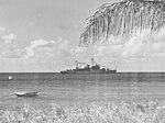 USS Greenwich Bay (AVP-41) at Frederiksted Harbor 1948.jpg