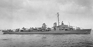 USS <i>Ingraham</i> (DD-694) US Navy warship