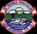 USS Kearsarge (CVA-33) insignia, 1958 (NH 65281-KN).png