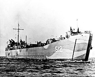 Peruvian Naval Infantry - BAP Paita, (USS LST-512 in image), one of Peru's first amphibious warfare ships purchased during its modernization.