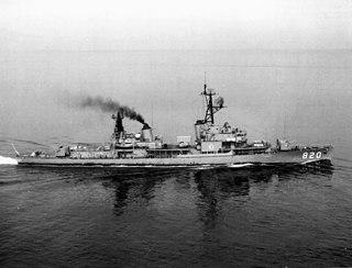 USS <i>Rich</i> (DD-820) Gearing-class destroyer