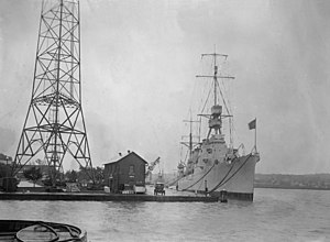USS Trenton (CL-11) - Trenton returning from her shakedown cruise in 1924.