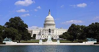 Ulysses S. Grant Memorial - Image: US Capitol and Grant Memorial