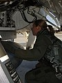 US Female F-16 Fighter Pilot Capt Katherine Gaetke prepare to fly dissimilar aircraft training at Langley Air Force Base (061204-F-8820I-011).jpg