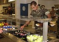 US Navy 020801-N-7463C-008 New galley opens at Camp Mitchell, Rota, Spain.jpg