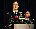 US Navy 111109-N-RF645-192 Brig. Gen. Mark S. Martins, Chief Prosecutor for the Office of Military Commissions, addresses the media during a press.jpg