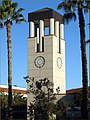 U of Redlands, Hunsacker Clock Tower 10-14-12 (8203049439).jpg