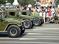 Ukrainian Humvees during the Independence Day parade in Kiev.JPG