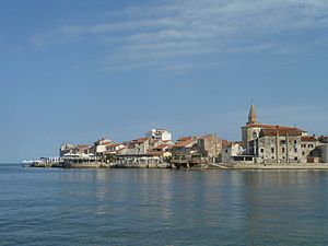 Umag from beach 2.JPG