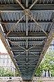 Under the Passerelle Mornay, Port de l'Arsenal, Paris 18 August 2015.jpg