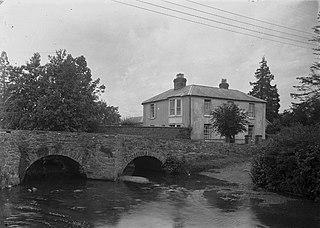 Unidentified house and bridge