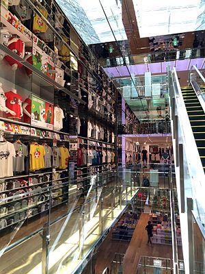 Uniqlo - Uniqlo flagship store in Shinsaibashisuji, Osaka