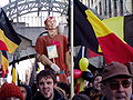 United Belgium Brussels demonstration 20071118 DMisson 00062 Belliard street Thyl Uilenspiegel giant.jpg