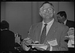 Nick Smith (U.S. politician) - Image: United States Representative Nick Smith in 1993