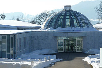 University of St. Gallen - The convention and executive education center opened in 1995