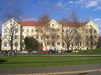 University of Zagreb - Palace of the University and the Faculty of Law, Republic of Croatia Square