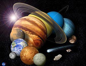 Español: el mundo y sus planetas