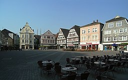The old market square of Unna