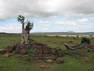 Mafeteng District - Landscape near Ha Khopolo, Mafeteng