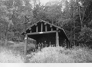 Upper Kintla Lake Patrol Cabin United States historic place