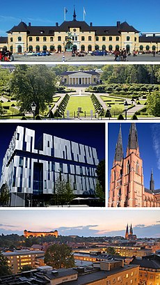 How to get to Uppsala with public transit - About the place