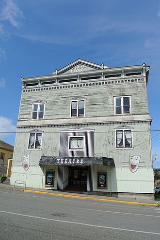 Port Townsend Historic District - Image: Uptown Theatre Port Townsend