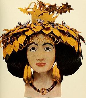 Puabi - Headgear of queen Puabi